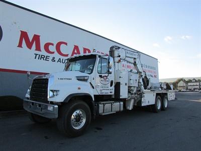 McCarthy Tire Service has 604 service trucks in its 24/7 roadside service fleet.