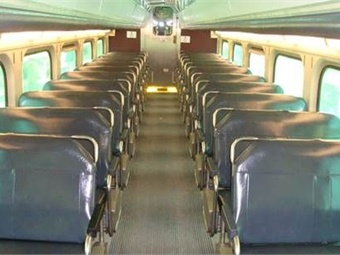 Replacing the new seats in future rehabilitations will cost about 50% less than replacing the old ones (shown) because parts can be reused.Photo: Metra