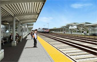 Rendering provided by Metra