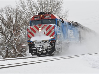 About 70% of Metra's current fleet of 147 locomotives are rated in marginal or poor condition. Photo: Metra