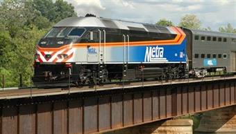 Metra photo via Facebook