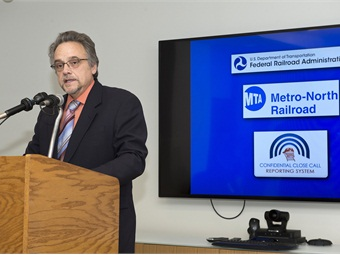 Metro North President JosephGiulietti Photo: Metropolitan Transportation Authority/Patrick Cashin