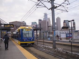Metro Transit's light rail service. Photo: Metro Transit