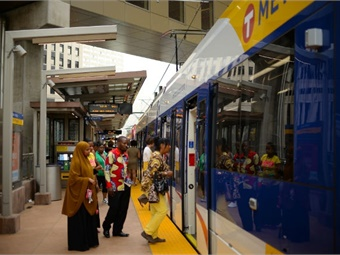 The research drew on data collected by the University of Minnesota, measuring the number of jobs over 48 metropolitan areas that were accessible by public transit.
