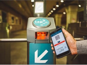 The integration of these new optic readers costs $1.2 million and is Phase 3 of Metrolink's Mobile App Project. Photos courtesy Metrolink
