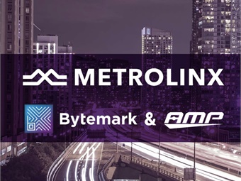 The Metrolinx deployment marks new territory for AMP. The company has previously provided solutions to the retail and hospitality industries.Bytemark