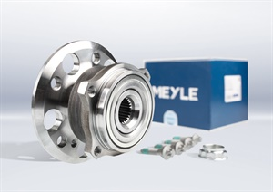 The Meyle-Original wheel bearing repair kit is available under the Meyle parts numbers 014 753 0003, 100 653 0033, 100 653 0034 and 100 653 003.