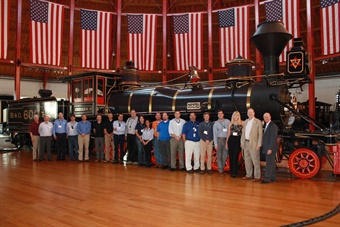 Previous railway certification program attendees. Photo: Michigan State University