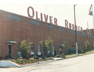 The Oliver Rubber plant in Asheboro, N.C., employs more than 450 professionals in the design, chemistry, mixing, extrusion, and pressing processes.
