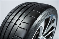 The Michelin Pilot Super Sport is widely used by original equipment manufacturers and is also available as a replacement. The company says a dual compound tread provides excellent dry handling and braking performance.