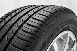 CUV tires like the Michelin Premier LTX focus less on off-road traction and more on touring-like qualities.