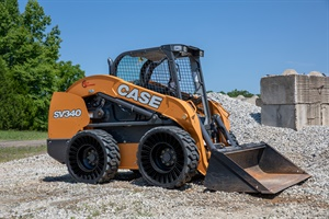 Michelin has a new generation of airless Tweel tires for skid steer machines. The SSL2 AT (pictured) is designed for all-terrain applications and the SSL 2 HST is for hard surfaces.