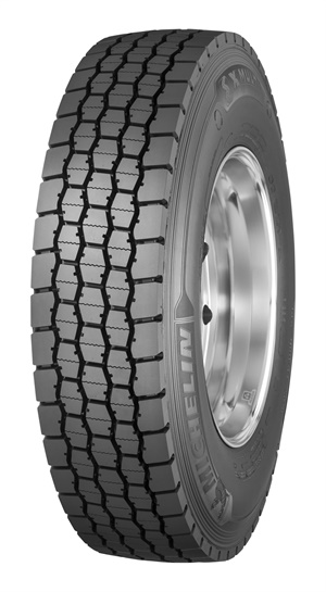 The Michelin X Multi D features co-extruded rubber compounding: multiple compounds in one tire.