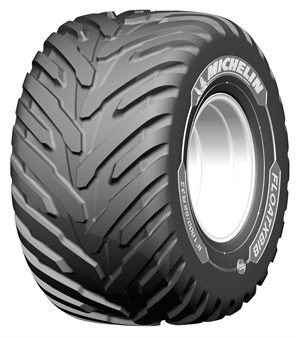 The Michelin FloatXBib is available in IF 1000/55 R32 CFO size.