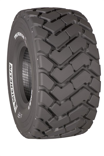 The Michelin XHA 2 loader tire is  available in two new sizes: 17.5R25 and 775/65R29.