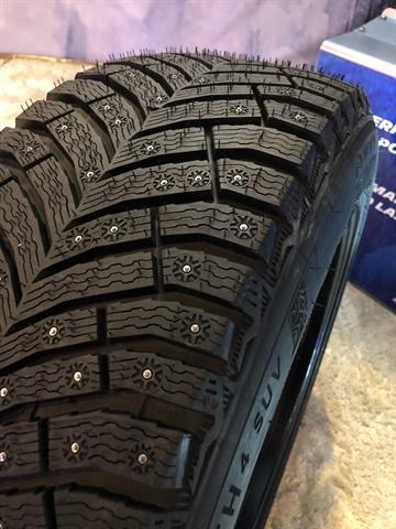 The Michelin X-Ice 4 North will contain 250 tire studs.
