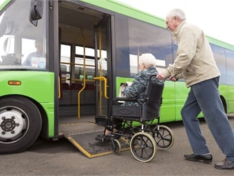 A key driver to the increased demand for accessible transportation is an aging population that is bringing new mobility challenges. Photo: SolStock