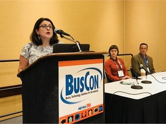Sacramento RT's Alva Carrasco discussed her agency's successful microtransit program.