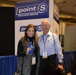 Mike and Joyce Nussbaum from Nussbaum Distributing Inc. in Memphis, Tenn., are a key component to the Point S growth plan in the U.S.