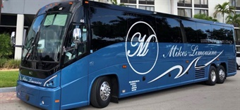 Mike's Limousine, based out of Tallahassee, FL, adds 2019 MCI J4500 coach to its impressive 25-vehicle fleet.