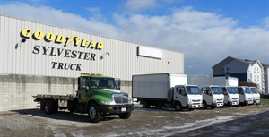 In addition to running a tire dealership, Sylvester became a certified Mitsubishi Fuso truck dealer eight years ago.