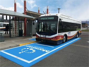 Link Transit and Momentum share the State of Washington's desire to reduce carbon emissions and the transit company plans to migrate to emissions-free electric buses as soon as possible.