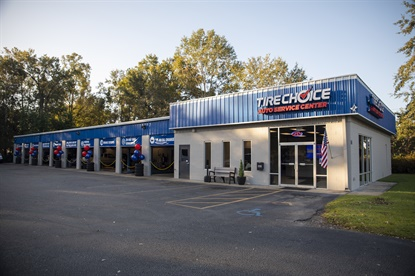 """Some Monro stores are moving to the company's Tire Choice brand as part of an ongoing """"store refresh"""" program."""