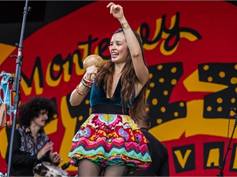 In celebration of the festival's recent 60th Anniversary, MST revamped the exhibits to showcase a new generation of performers from the most recent festivals. Pictured performing is Monsieur Perine Photo by Craig Lovell