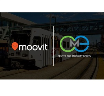 Moovit and the Center for Mobility Equity have partnered to provide transit data to public transit riders using Moovit's free app in Maryland and the greater Baltimore-Washington region. Image: Moovit