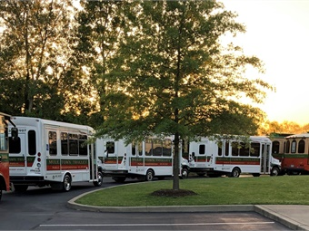 SCTDD is planning further enhancements to its Mule Town Trolley service by building new lighted bus shelters, providing identifiable locations where it is safe to board, and expanding again to offer a fifth route.