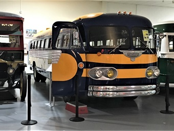 The plan is to eventually have a crop of stored buses available to the public during the AACAM's extensive hours.AACAM