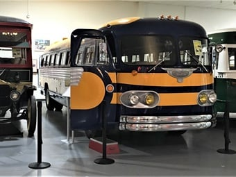 The plan is to eventually have a crop of stored buses available to the public during the AACAM's extensive hours.