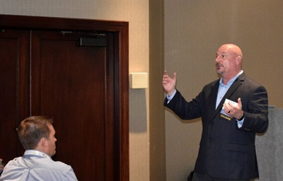 Shawn Smith, the transportation director for Aurora (Colo.) Public Schools, shared with attendees his transportation department's challenges and successes with driver retention.