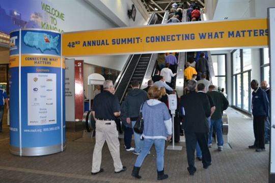 """NAPT's 2017 conference will include three keynote speakers, new """"NextPloratory Sessions,"""" and a one-day trade show. Seen here is the 2016 event."""