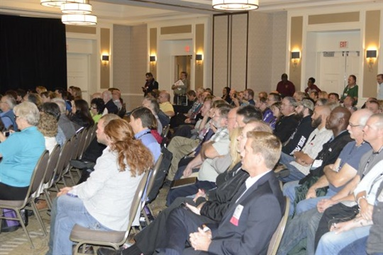 NAPT's 2017 conference will take place Nov. 3 to 7 in Columbus, Ohio. Seen here is the 2015 event in Richmond, Virginia.