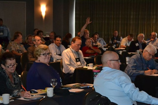 The NASDPTS 2017 conference will address such topics as seat belts, driver tablets, and education reform. Seen here is the state directors' 2016 event.