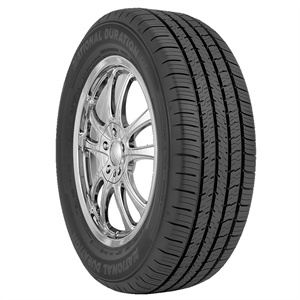 The National Duration EXE is a touring, all-season passenger tire available exclusively to NTW customers.