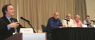 "MTD Editor Bob Ulrich moderates the NCTDA's ""How to Greatly Improve Your Business Model"" panel discussion."