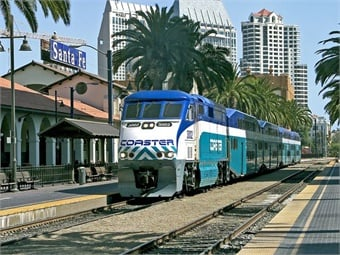 The proposal calls for an investment of $434 billion in surface transportation over five years, including $105 billion for public transit and $55 billion for passenger rail.