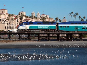 The NCTD expect to have full interoperable operations on all trains on the San Diego portion of the Los Angeles-San Diego-San Luis Obispo corridor by Dec. 31, 2018. Photo: NCTD