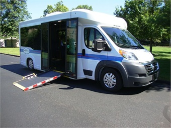 The multi-patented design and construction utilizes the Ram Promaster 3500 cutaway for the drive-train and is joined to a purpose built lowered-floor platform made from high strength lightweight steel.New England Wheels