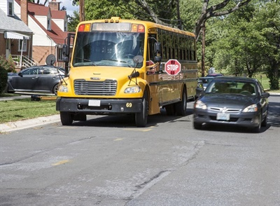 House Bill 1926 would allow school districts to install stop-arm cameras on school buses, and let law enforcement issue fines forbus passing violations. File photo courtesy NHTSA