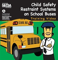 NHTSA's video gives guidance on child safety restraint systems.