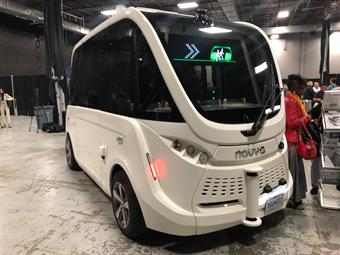 NJ TRANSIT presented local municipalities and community-based transportation groups with a glimpse at autonomous, self-driving shuttles at the NJ Council on Special Transportation Expo in Edison.