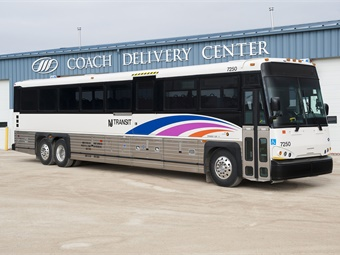 NJ Transit's MCI Commuter Coach. Photo: MCI