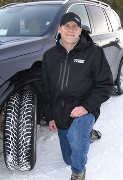 Nokian's Hans Dyhrman credits a bio material called cryo crystal 3 for creating a low rolling resistance, high friction (studless) winter tire, the Hakkapeliitta R3 and, for SUVs, the R3 SUV.