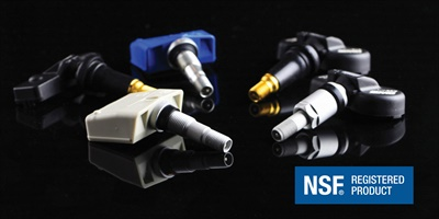 Standard Motor Products reports it is the first manufacturer to have its TPMS sensors registered with NSF International.