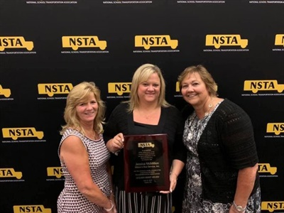 The NSTA canceled its annual meeting and convention and safety competition, scheduled for July, due to the COVID-19 pandemic. Shown here are award winners from the 2019 meeting and convention. Photo courtesy NSTA