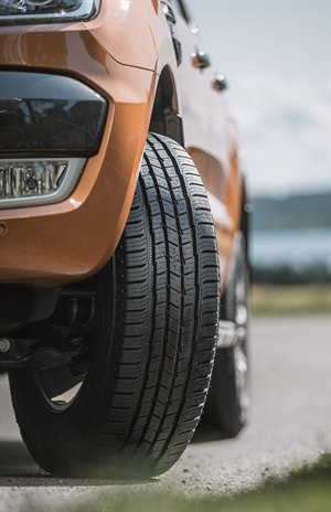The new Nokian One HT premium tire for light trucks and SUVs will be available in 36 sizes for rims from 16 to 22 inches with a speed rating of R and S for LT metric sizes and T and H for P-metric applications.