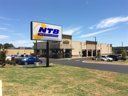 The NTB store in Tucker, Ga. has moved to a new location on Mountain Industrial Boulevard.